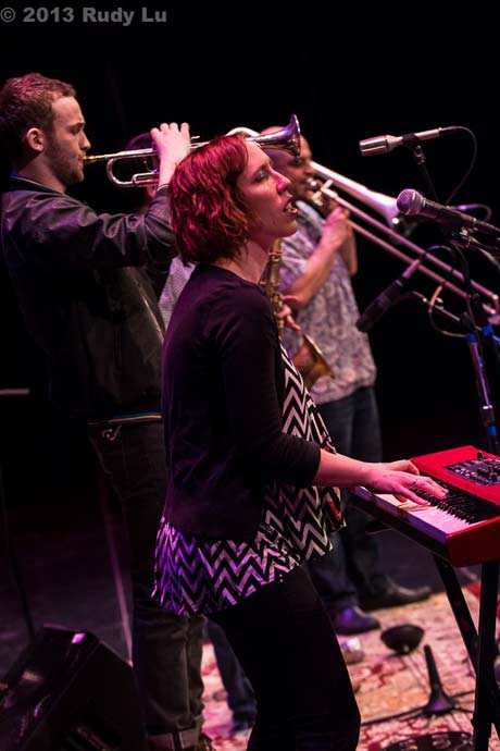 The Outer Borough Brass Band @ Proctors, 4/12/13 (photo by Rudy Lu)