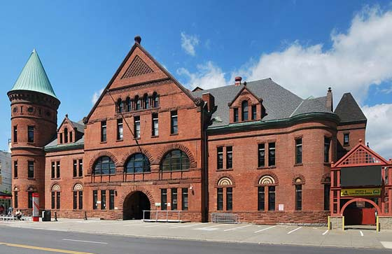 The Washington Avenue Armory