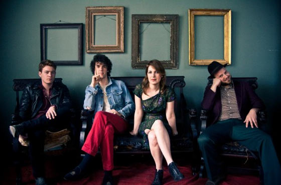 Brooklyn-based co-ed band the Lisps arrive at MASS MoCA's Club B-10 in North Adams at 8pm on Saturday, April 27