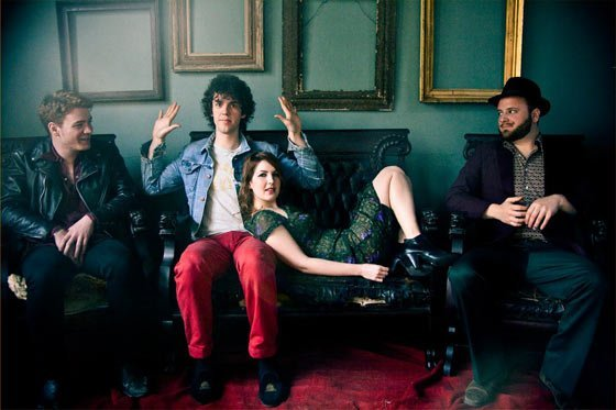 Brooklyn-based co-ed band the Lisps arrive at MASS MoCA's Club B-10 in North Adams at 8pm on Saturday (April 27)