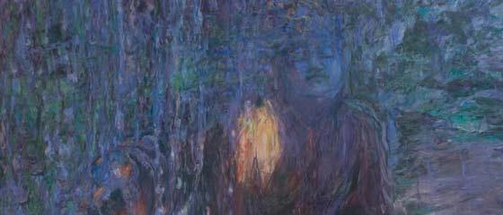 Pamela Avril: Rain @ Schick Art Gallery