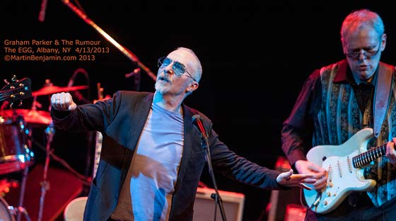 Graham Parker and The Rumour (photo by Martin Benjamin)