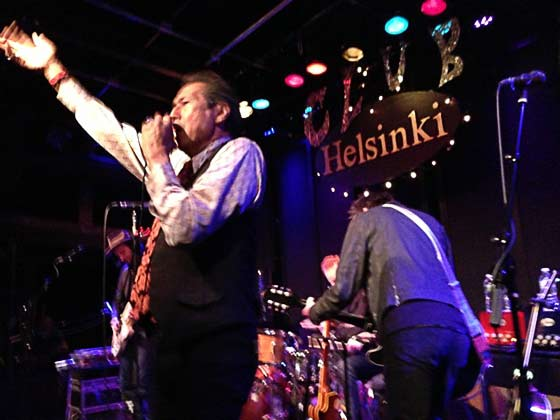 Alejandro Escovedo & the Sensitive Boys @ Club Helsinki, 4/7/13 (photo by Tim Livingston)