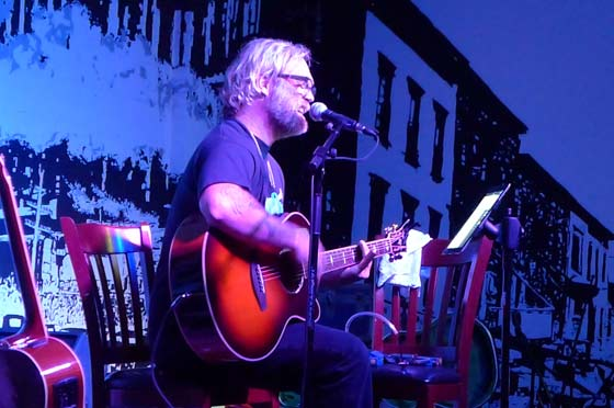 Anders Osborne  @ The Putnam Den (photo by Kirsten Ferguson)