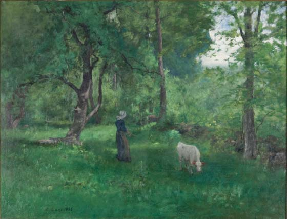 George Inness: Green Landscape @ The Clark