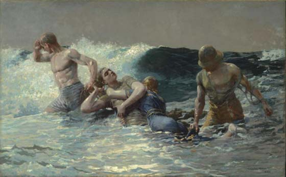 Winslow Homer: Undertow @ The Clark