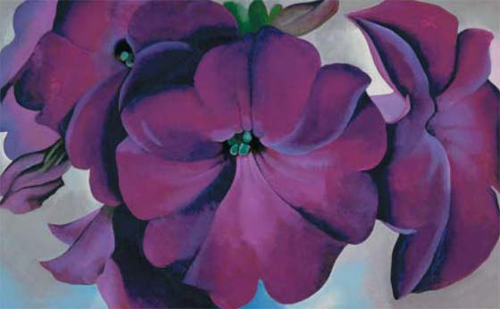 Georgia O'Keeffe:Petunias @ The Hyde Collection