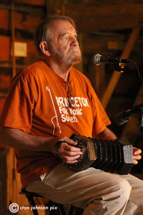 John Roberts performing at The Mabee Farm