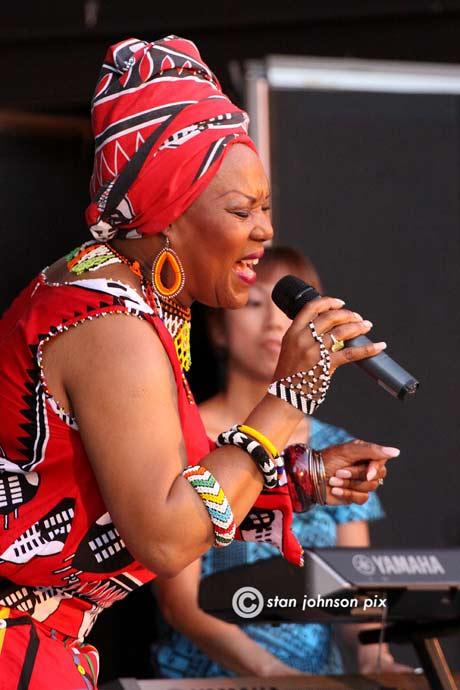 Lorraine Klaasen & African Connexion @ the Music Haven, 7/14/13