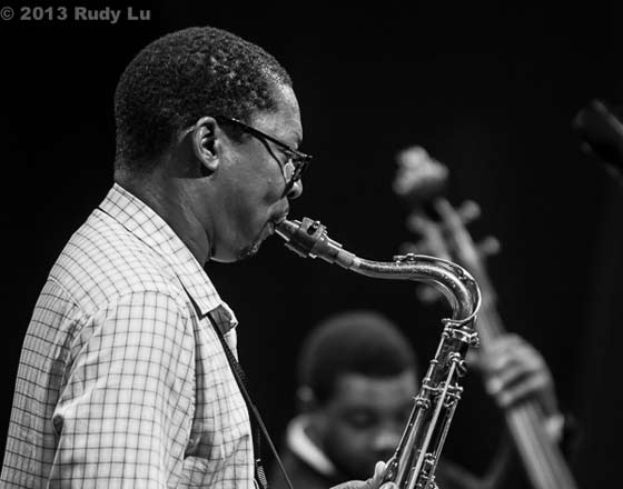 Ravi Coltrane and Dezron Douglas