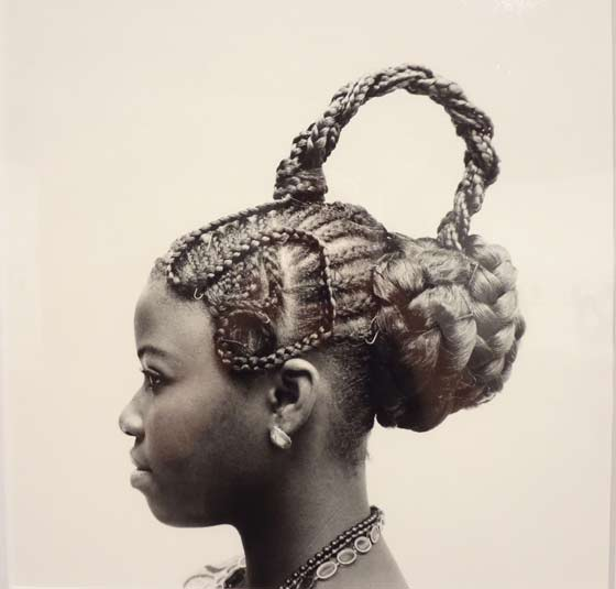 J.D. Okhai Ojeikere: Braided hair