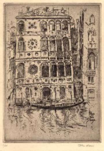 John Marin: Palazzo Dario, Venice @ The Arkell Museum