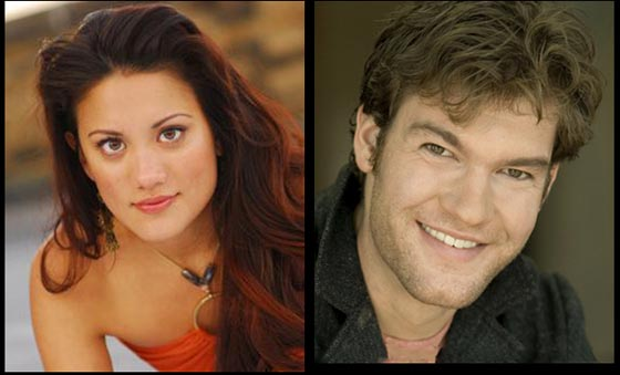 Diane Phelan and Jared Fabel will play Laurey and Curley in Oklahoma.