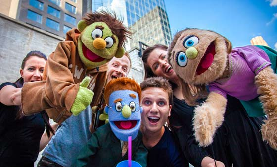 Puppet Filled Musical for Adults – Avenue Q – Lands on Glen Street in Glens Falls