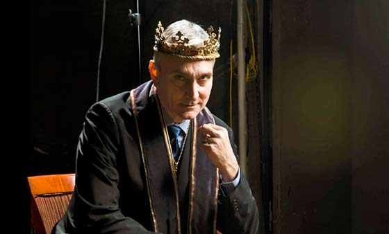 Rocco Sisto as Richard II. Photo: Kevin Sprague.