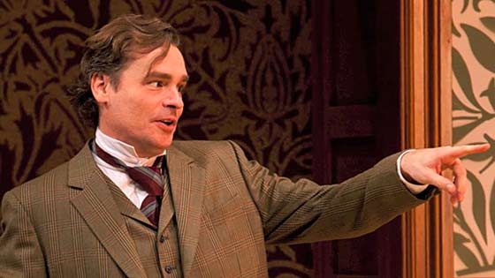 Robert Sean Leonard is Professor Henry Higgins in Pygmalion at the Williamstown Theatre Festival Juy 17-27.