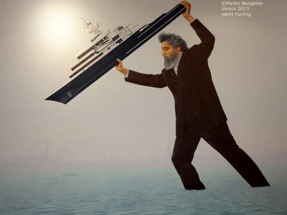 Jeremy Deller: William Morris hurling Roman Abramovich's yacht into the sea
