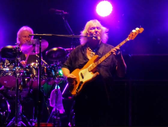 Alan White and Chris Squire
