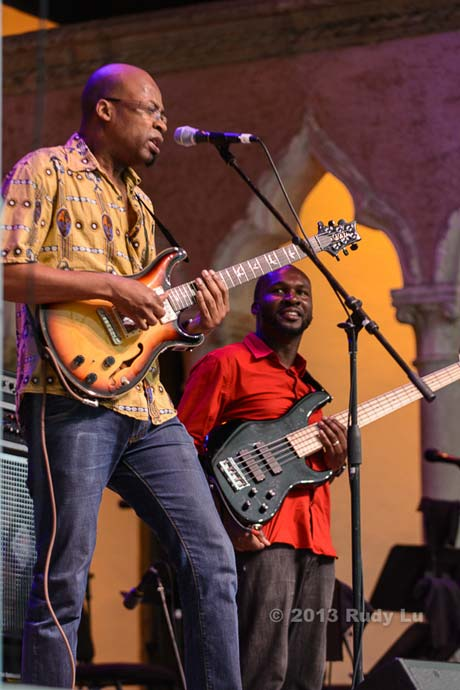 Lionel Loueke and Michael Olatuja