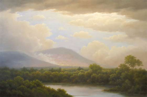 Jane Bloodgood-Abrams: Reverie (Hoosic River North Adams)