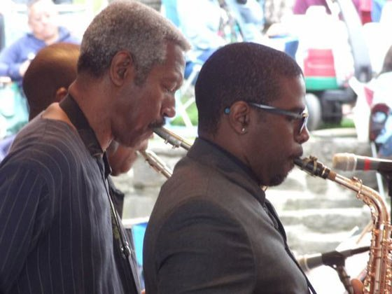 Billy Harper and Antonio Hart (photo by J Hunter)