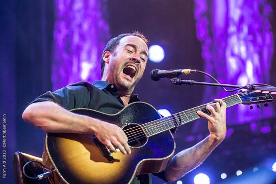Dave Matthews (photo by Martin Benjamin)