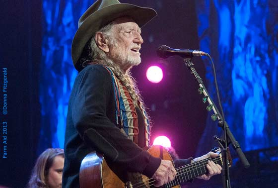 Willie Nelson (photo by Donna Fitzgerald)