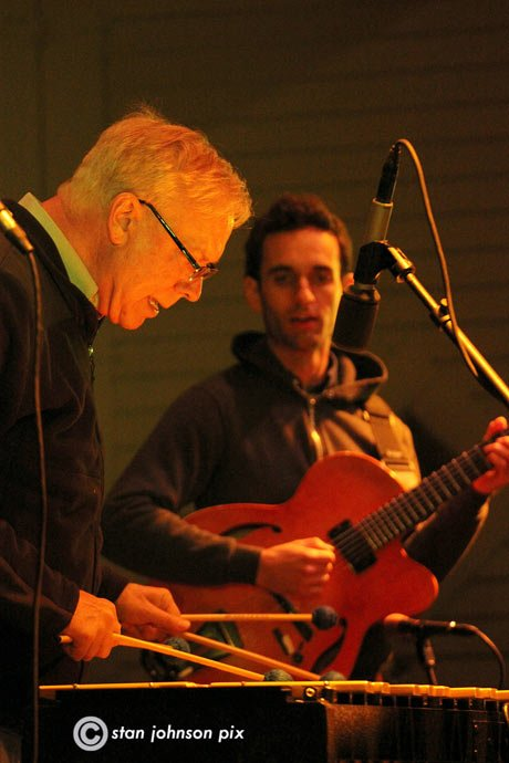 Gary Burton and Julian Lage (photo by Stanley Johnson)