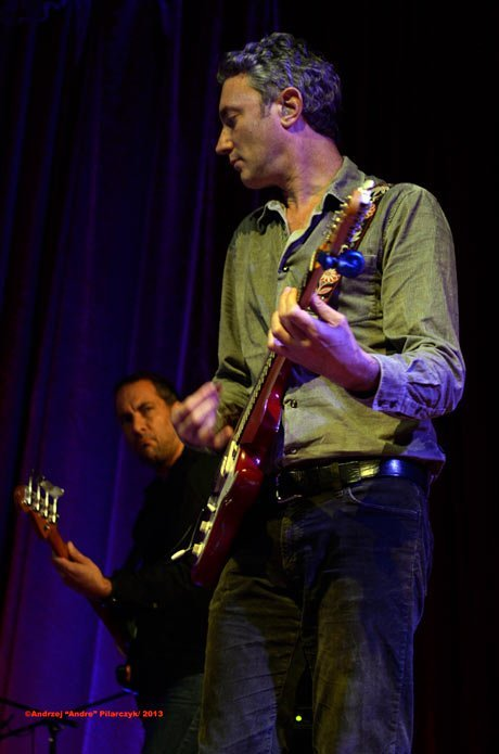 Bassist Andy Hess and guitarist Avi Bortnick
