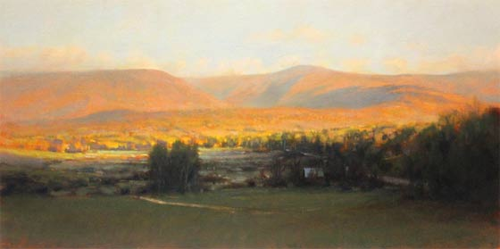 John MacDonald: Greylock Sunset @ The Harrison Gallery, Williamstown