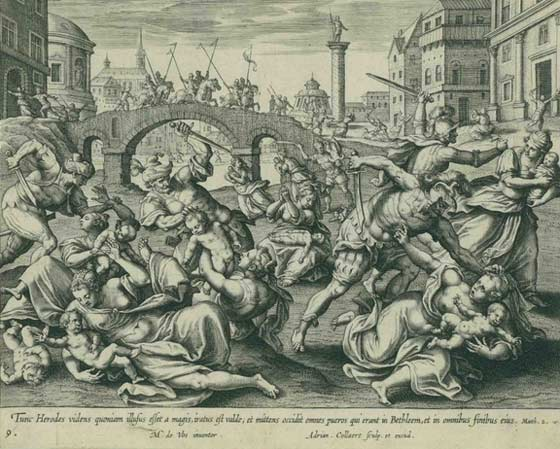 Adriaen Collaert: Slaughter of the Innocents @ Mandeville Gallery