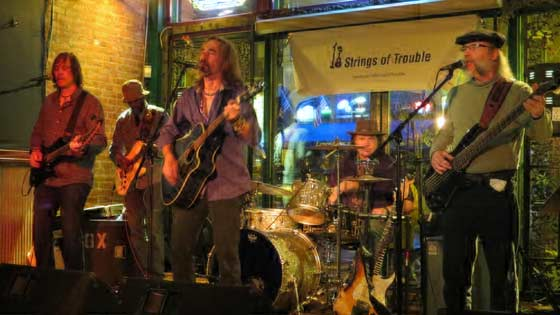 18 Strings of Trouble: Herb Carter Jr., Justin Donahoe, Hans S. Dirwzuweit, JC Woods and Mark Tritico
