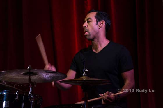 Antonio Sanchez of the New Gary Burton Quartet