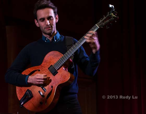 Julian Lage of the New Gary Burton Quartet