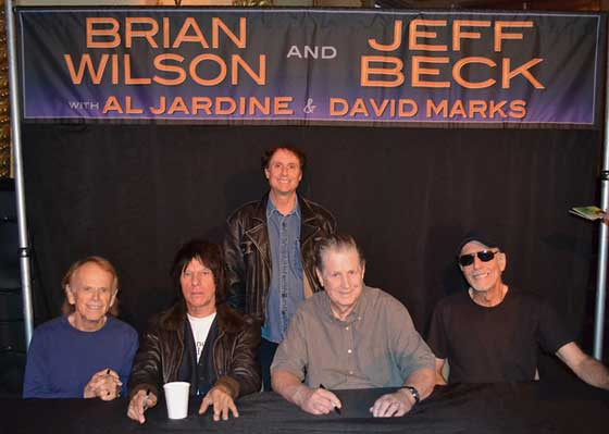 Brian Wilson and Jeff Beck @ The Palace Theatre, Albany