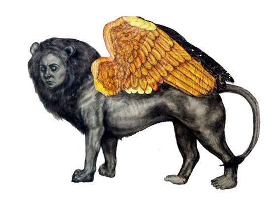 Tatiana Klacsmann: Lion Chimera @ Thompson Giroux Gallery