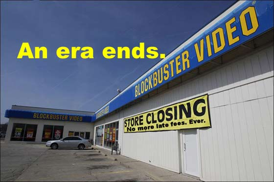 Blockbuster: An era ends