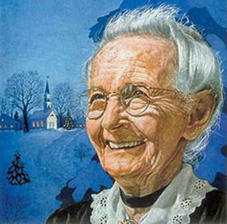 Grandma Moses charmed the editors of many national magazines with her refreshing simplicity and directness.