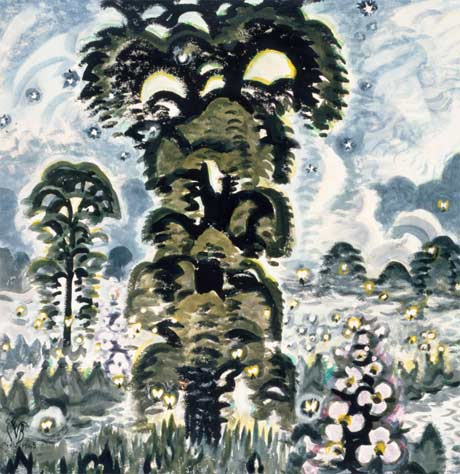 Charles E. Burchfield: Fireflies and Lightning @ The New York State Museum