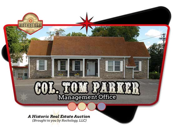 The office/home of Colonel Tom Parker