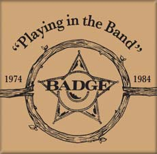 Badge: Playing in the Band