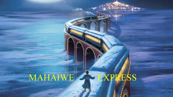 The film Polar Express is due to stop in town.
