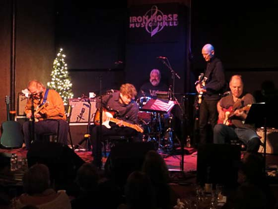 Al Anderson, Shawn Camp, Greg Morrow, Michael Rhodes and Pat McLaughlin