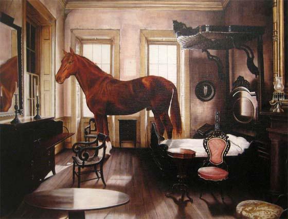 Juan Garcia-Nunez: Insolents-Refugio  @ Carrie Haddad Gallery