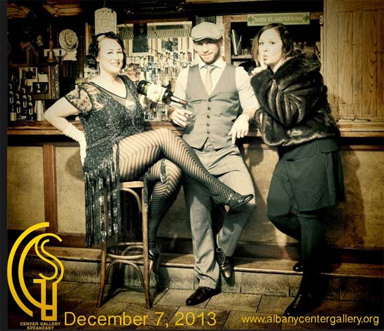 Albany Center Gallery's Speakeasy Gala takes place December 7 at 90 State Events in Albany.