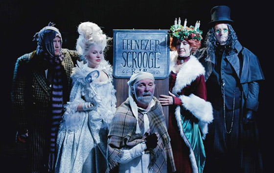 Broadway's Kevin McGuire as Scrooge at Capital Repertory Theatre