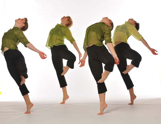 Ellen Sinopoli Dance Company at The Egg. (photo: Gary Gold)