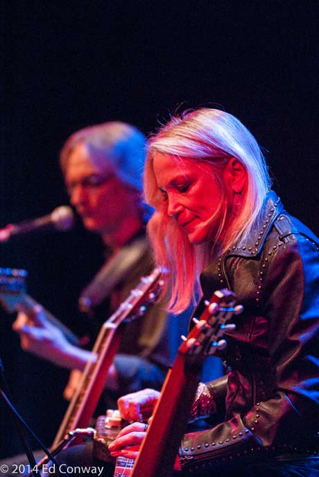 Sonny Landreth and Cindy Cashdollar (photo by Ed Conway)