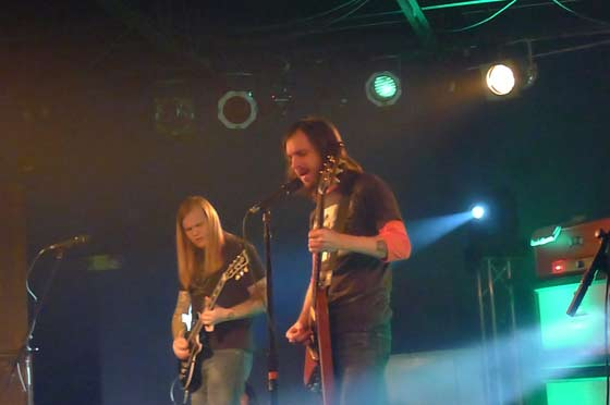 Kyle Shutt (left) and J.D. Cornise of The Sword
