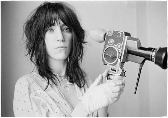 Judy Linn: Patti With Bolex